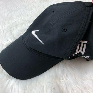 Nike black tiger woods hat